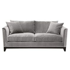 Pauline Sofa | Sofas | Furniture | Z Gallerie in bella grey.  also like bella pearl