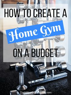 Are you planning your create a home gym on a budget and want to know the budget-friendly home gym essentials you need to have? I created my own home gym a few years ago - read on to find out my home gym must-haves!