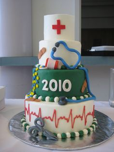Nursing cakes.. Thinking of ideas.. I like the bottom tier for sure !