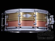 Craviotto 14 x 5.5 Masters Metal Snare Drum