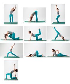 Awesome little yoga sequence!