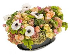From the Garden - Arrangements - Los Angeles Florist tic-tock Couture Florals | Voted Best Florist in Los Angeles