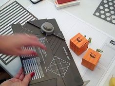 ▶ Gift Box Punch Board Halloween Pumpkin Stampin' UP! - YouTube