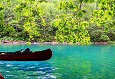 水質日本一の絶景!カヌーで味わう「支笏湖」クリスタルブルーの世界   北海道   Travel.jp[たびねす]