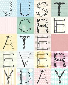Free Crafty Font and Printable Sign   bnute productions