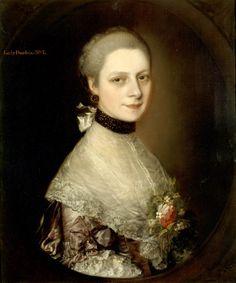 Portrait of Elizabeth Collett Durbin, Thomas Gainsborough, oil on canvas, 1759.
