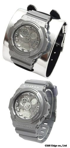 ef091412de9 G-SHOCK by Maison Martin Margiela   Collaboration Model GA-300  G-SHOCK  WATCH   SILVER