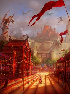 "Don't miss this exclusive new collection of artworks by Marc Simonetti for 'A World of Ice and Fire and brand new cover arts for ""The song of Ice and fire"