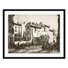 Gallery Direct Bill Lanigan 'Monte Caprino, Rome' by Herman A. Webster Framed Photographic Print Size:
