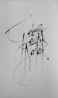pinterest.com/fra411 #calligraphic