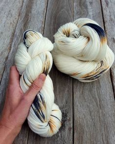 """76 Likes, 4 Comments - Kylie ~ Australian Yarn Dyer (@fiber_lily) on Instagram: """"[ORCHID] Exquisite elegance #fiber_lilyloves #orchid #handpaintedyarn"""""""