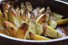 Kartoffelecken aus dem Ofen , The Orange Taste