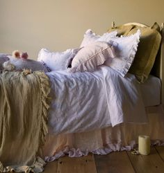 """Bella Notte are my """"dream linens""""...so gorgeous, but pricey Bella Notte bed linens"""