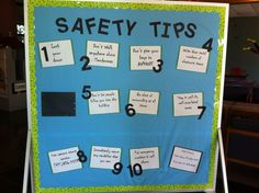 Dorm safety tips BB - good for any month to keep residents aware and make sure the building stays safe!