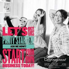 Music to our ears!  Let's get this PARTY STARTED #party #partyplan #join #business #workathome #opportunity #love #wahm http://default.gobefragrant.com/index.php?page=join-now&theme=1