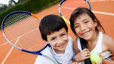 Kids with ADHD often excel at individual sports like gymnastics or tennis that offer one-on-one coach attention, non-stop action, and clear rules. Here are a few expert recommendations. Tennis Camp, Tennis Tips, Play Tennis, Tennis Match, Adhd Activities, Activities For Kids, Summer Day Camp, Summer Camps, Tennis Online