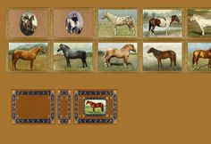 miniature book of horses to print for dollhouse library