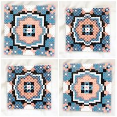 Coasters hama perler beads by mariandejonge