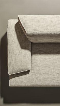 Modular Sofa, Fabric Sofa, Sofa Design, Detail Design, Chair, Interior, Furniture, Fabrics, Modular Couch