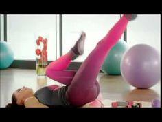 Ebru Şallı'dan bacak inceltme egzersizleri - 2 haftada 2 beden incelme g...