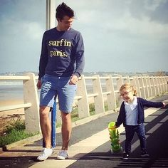 Regram from a daddy cool and class ! 👍 @_papacool_ #surfinparis #sweatshirt…