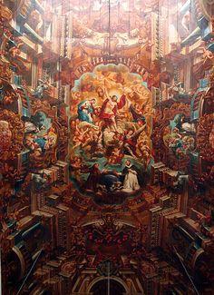 ceiling São Domingos church | Flickr - Photo Sharing!