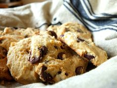 Chewy, soft and amazing cassava flour chocolate chip cookies. Paleo, gluten-free, and nut-free. They taste like regular chocolate chip cookies! Egg yolk reintro!