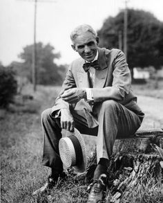HENRY FORD - Born on July 30, 1863, near Dearborn, Michigan, Henry Ford created the Ford Model T car in 1908 and went on to develop the assembly line mode of production, which revolutionized the industry. As a result, Ford sold millions of cars and became a world-famous company head. The company lost its market dominance but had a lasting impact on other technological development and U.S. infrastructure.