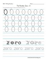 Number Handwriting Worksheets - Have Fun Teaching