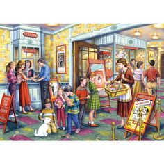 The Flicks - 1000pc jigsaw puzzle