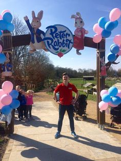 The opening of the new Peter Rabbit Adventure Playground at Willows ActivityFarm (@Willows_Farm)