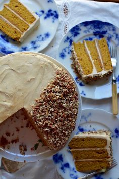 Pumpkin Layer Cake;