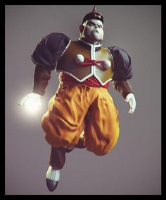 CGI Dragon Ball Z Characters - PART 2 - Blogs - Final Fantasy Forums