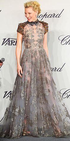 Cannes 2014.   CATE BLANCHETT in Valentino photo | Cate Blanchett