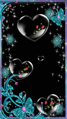 Free animated love heart mobile wallpaper by maryla75 on Tehkseven