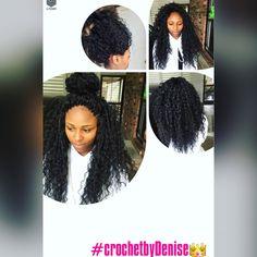 Crochet   #denisedoesmyhair #crochetbraids #protectivestyle #deeptwist…
