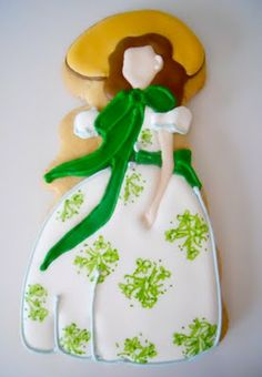 This is a Scarlett effing O'Hara cookie!  Who can do this?!?!?!