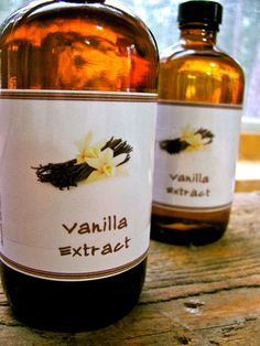 Make Your Own Vanilla Extract - HerbMentor