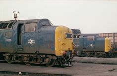 Electric Locomotive, Diesel Locomotive, Steam Locomotive, Train Pictures, World Pictures, Uk Rail, Abandoned Train, British Rail, Diesel Engine