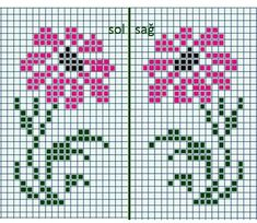Cross Stitch Cards, Cross Stitch Borders, Cross Stitch Designs, Cross Stitching, Cross Stitch Embroidery, Embroidery Patterns, Cross Stitch Patterns, Cross Stitch Beginner, Simple Cross Stitch