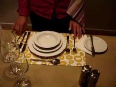 A nice video on how to set a table for a dinner party, we do all this when you book your function with us.  www.ratanga.co.za