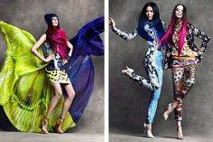 75 Kaleidoscopic Fashion Features - These Conceptual Styles and Editorials Push Visual Boundaries (CLUSTER)
