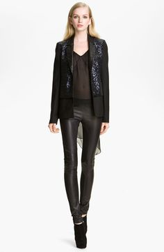 NWT WOMAN'S LEATHER- LOOK LEGGINGS-ALL SIZES AVAILABLE