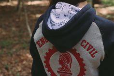 Moletom Canguru Tradicional Personalizado - ST47 Moda universitária
