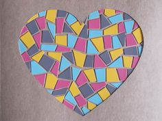 Confetti Workshop: DIY: Paint Chip Mosaic Artwork