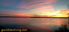 Just another glorious daybreak at Oklahoma's Grand Lake...