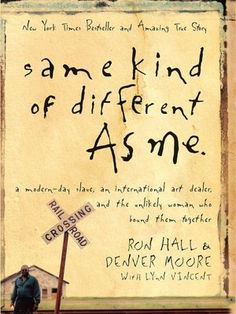 A beautiful story of a homeless man and an art dealer...it will imprint its poignancy on your heart.