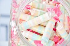 """Party Inspirations: Tata's 21st """"A Vintage Candy Store"""" by Styled By Coco. #candy #pastel"""