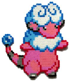 Made with hama perler beads Feel free to look at my Etsy shop: www.etsy.com/shop/AenysBeadArt Other Pokemon I made: