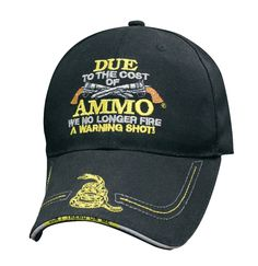0f0dcd979c6 AMMO Don t Tread On Me Hat - Leatherneck for Life